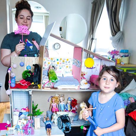 Maison de Barbie: J'ai construit une maison de Barbie