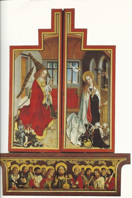 1490 ca Altar aus Wolfskehlen, Landesmuseum Darmstadt revers