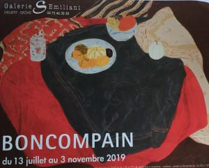 Galerie EMILIANI à Dieulefit (Drôme) Exposition BONCOMPAIN 13 Juillet au 3 Novembre 2019