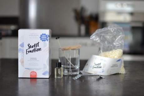 J'ai testé pour vous : une bougie DIY avec La Petite Épicerie