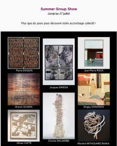 Galerie Lazarew    « Summer Group Show »  jusqu'au 27 Juillet 2019