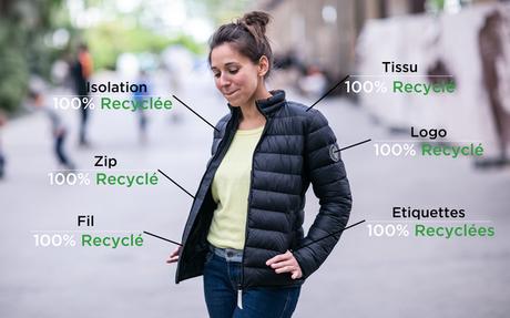 Crac'h (56) :   Doudounes 100% recyclées