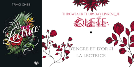 THROWBACK THURSDAY LIVRESQUE #76 : Quête