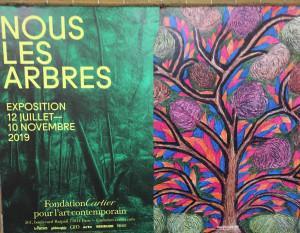 « Nous les arbres » Fondation  Cartier  » 12 Juillet au 10 Novembre 2019