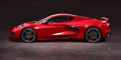 Corvette C8 Stingray: moteur central