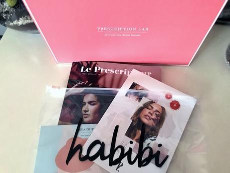 Le récap' de  la Prescription Lab Habibi