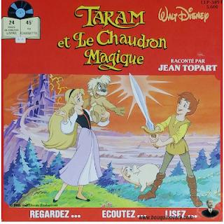 Livre-disque – Taram et le Chaudron Magique raconté par Jean Topart