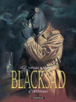 Blacksad, intégrale de Juan Diaz Canales et Juanjo Guarnido