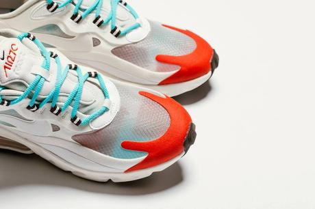 La Nike Air Max 270 React Light Beige/Chalk est disponible