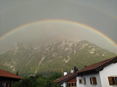 Die Brücke zur Walhalla am Karwendel