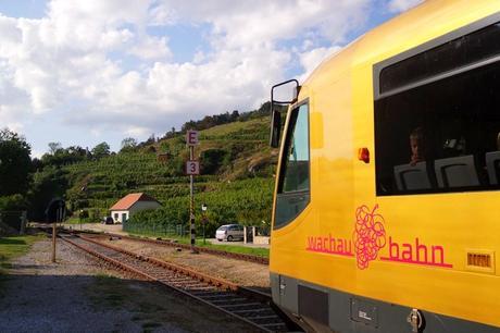 autriche wachau heritage trail randonnée bahn train
