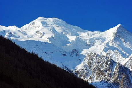 Le Mont-Blanc vue de Chamonix © French Moments