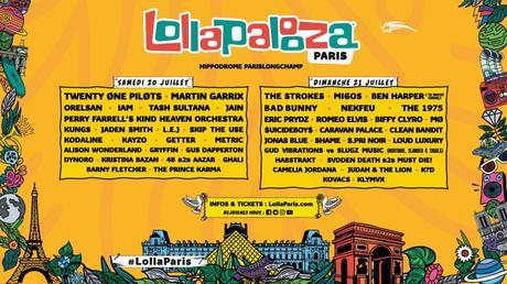 Bientôt le coup d'envoi de Lollapalooza 2019
