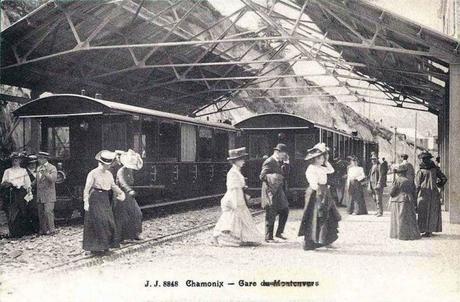 Gare du Montenvers vers 1910