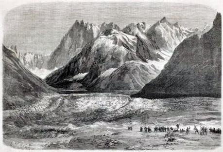 Napoléon III à la Mer de Glace