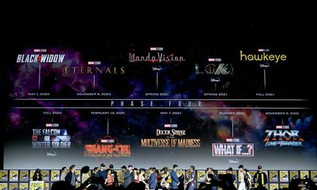 Marvel Marvel Cinematic Univers Phase 4 Programme