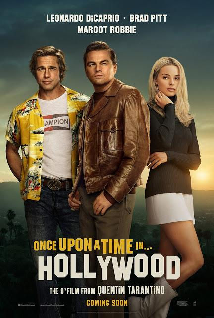 Nouvelles affiches US pour Once Upon a Time in Hollywood de Quentin Tarantino
