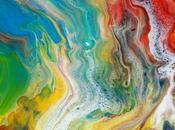 Créez magnifique toile d'art abstrait grâce l'acrylique pouring