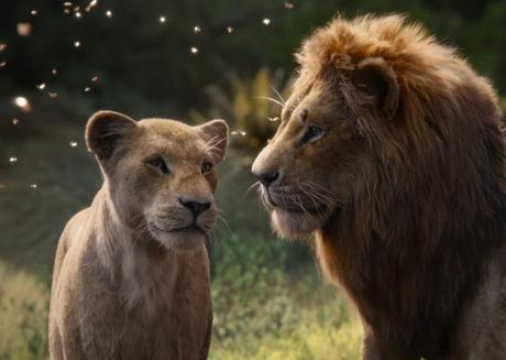 le roi lion simba nala