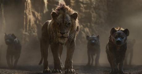 le roi lion Scar hyènes