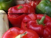 Légumes farcis ,tomates,poivrons,courgettes,pommes terre Bas*