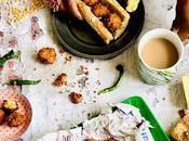 Gato pima Gâteaux piment Falafels base pois cassés jaunes, classique street-food l'île Maurice