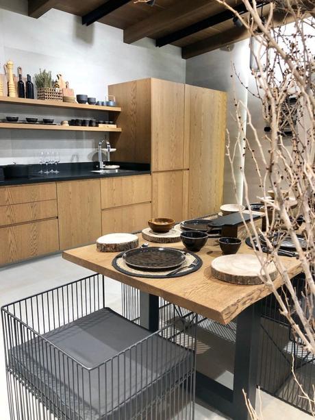 cuisine bois chêne design moderne elegante ouverte - blog déco - clem around the corner
