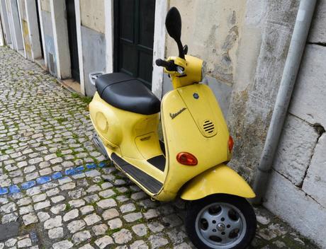 Vespa Lisbonne