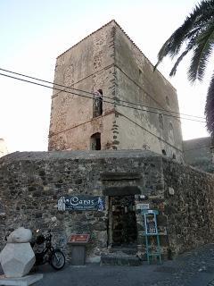 La charmante ville d'Orosei