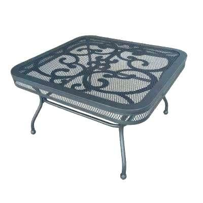 metal patio coffee table wicker coffee table outdoor springs metal outdoor coffee table