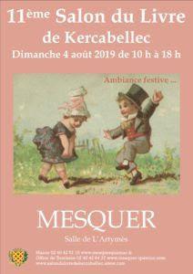 Salon du livre de Kercabellec (44) dimanche 4 août