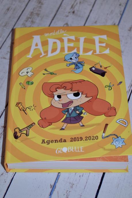 L'agenda Mortelle Adele 2019/2020 - Editions TOURBILLON