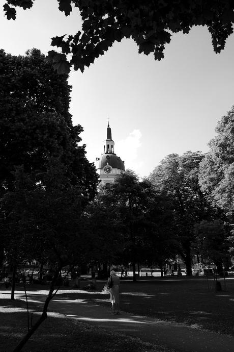 Autour de Katarina kyrkogård, cimetière paysager au centre de Stockholm