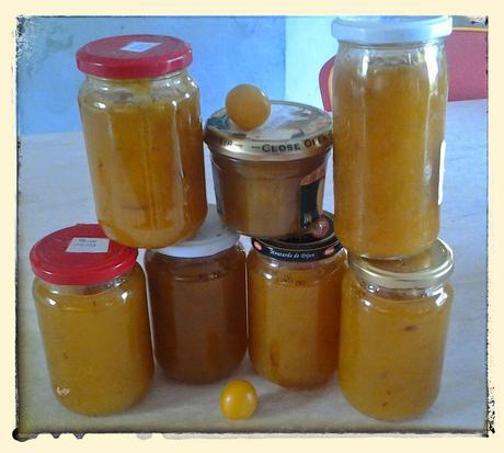 Confiture de prune jaune au thermomix