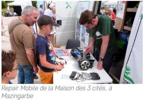 Economie circulaire / Repair Café : leboncoin subventionne