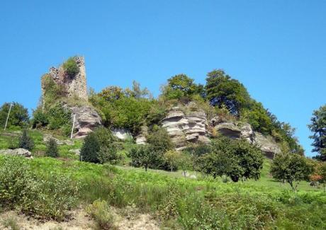 Château de Pierre-Percée par Ji-Elle (public domain)