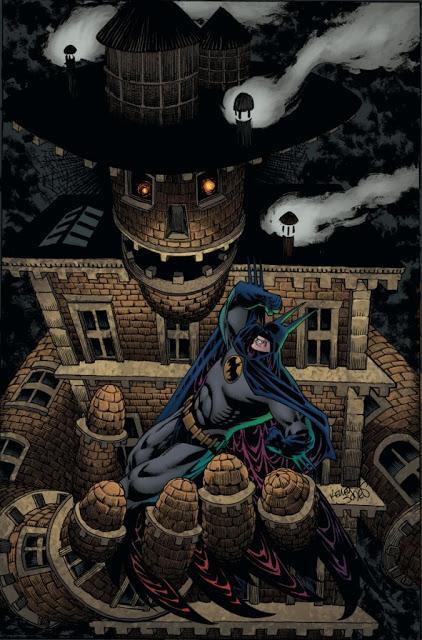 Batman Kings of Fear VS The Maxx : deux folies, deux approches.