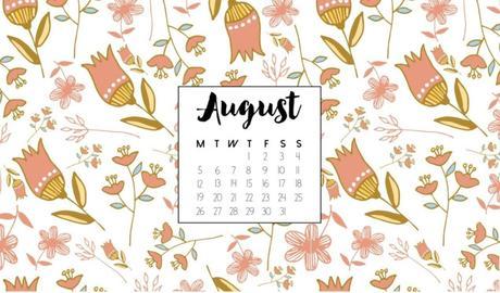 Calendrier Fond D Ecran Aout 2019 August 2019 Calendar Wallpaper