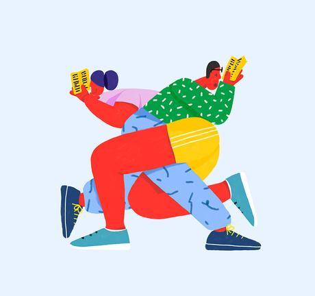 2019 illustration trend: disproportion