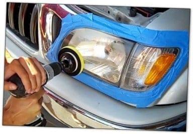 rénovation des phares de voiture