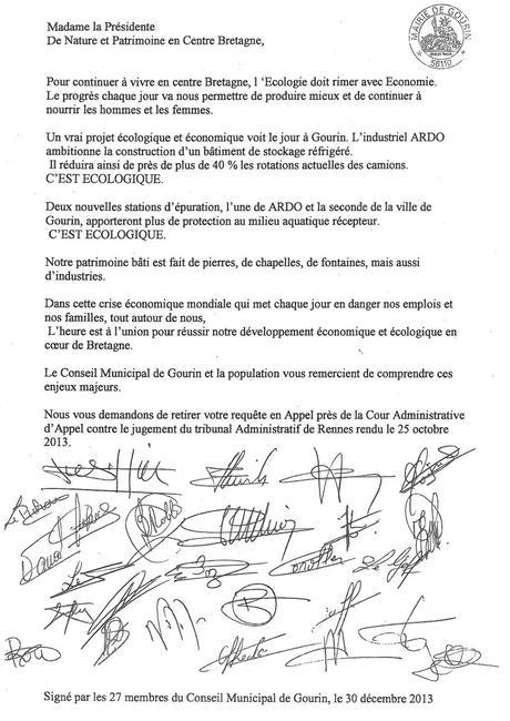 Lettre De Petition Paperblog