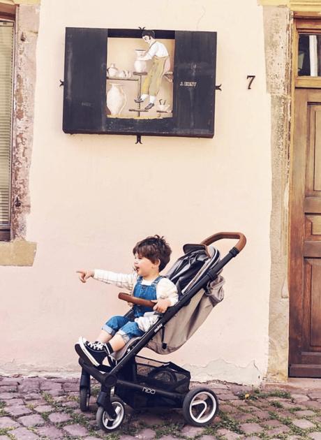 nexo musty poussette design confort pratique pour bébé - blog déco - clemaroundthecorner