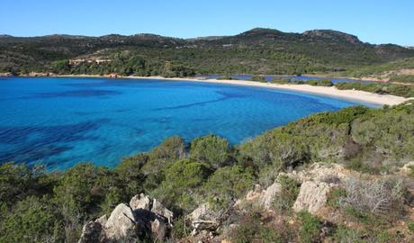 Plage de Rondinara en Corse