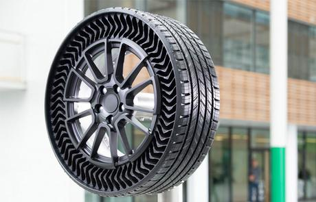 2024 : Michelin invente le pneu increvable