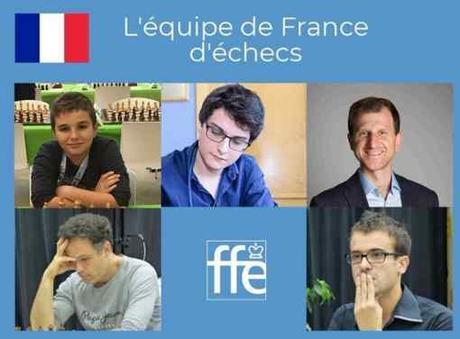 Le sélectionneur Igor Nataf a dévoilé sa sélection pour les championnats d'Europe d'échecs de Batoumi du 23 octobre au 3 novembre 2019