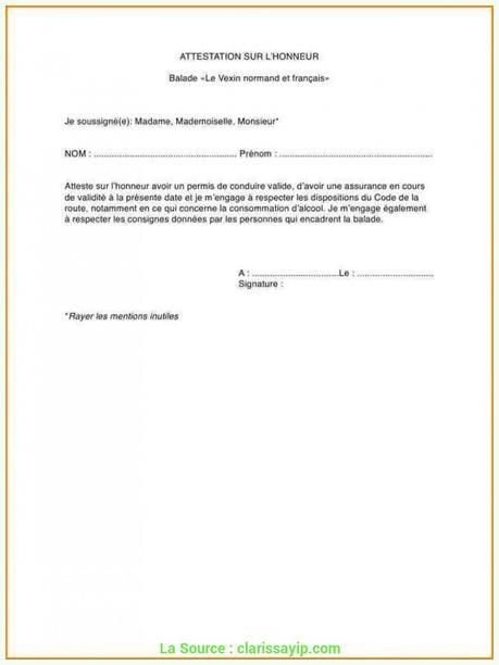 Modele Dattestation Paperblog