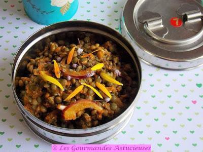 Comment réaliser rapidement une salade de lentilles à l'indienne
