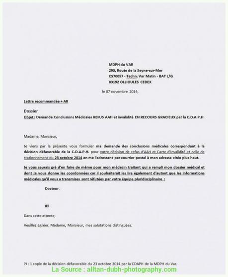Exemples De Modèles Lettre Recours Refus Visa Court Sejour