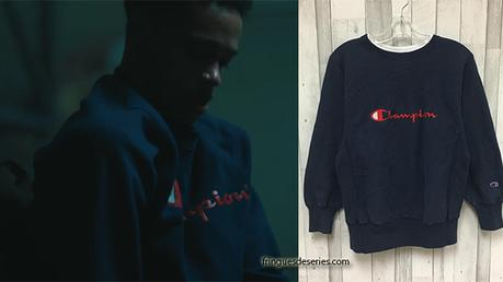 WHEN THEY SEE US : Champion sweatshirt worn by Raymond in episode 1