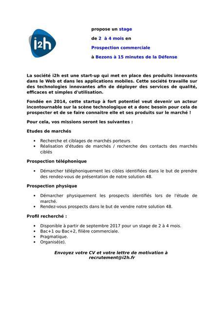 lettre commerciale prospection - Paperblog